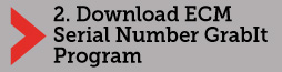 Download the ECM Serial Number GrabIt Program
